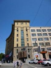 Près de la Place Lénine.